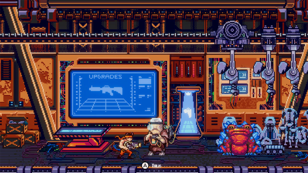 A screenshot of Bite the Bullet