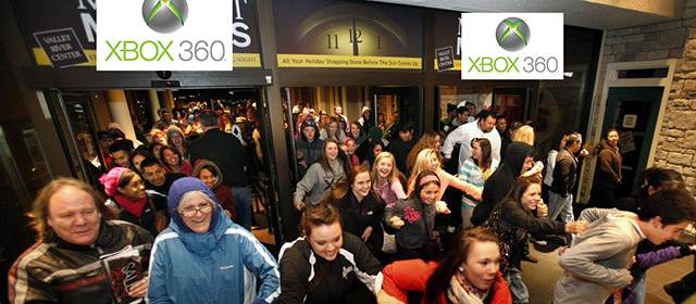 Microsoft Detail Xbox 360 Black Friday Discounts