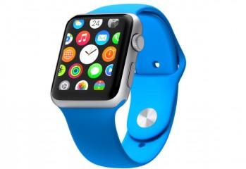blue apple watch