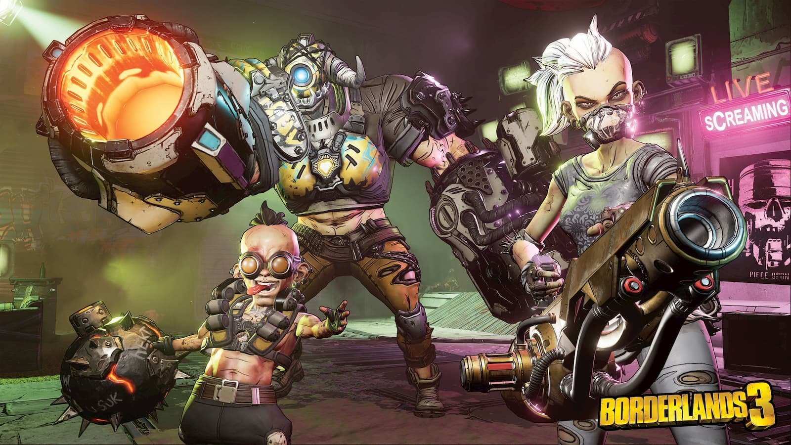 today Borderlands 3 Livestream Launch Party also tonight