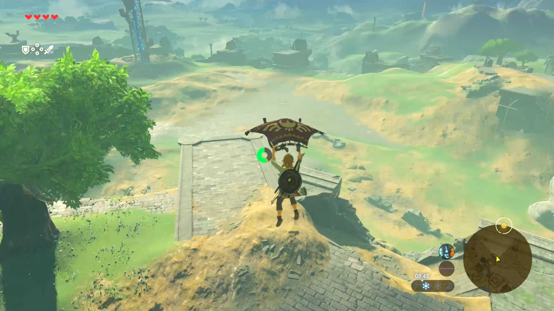 breath of the wild gliding