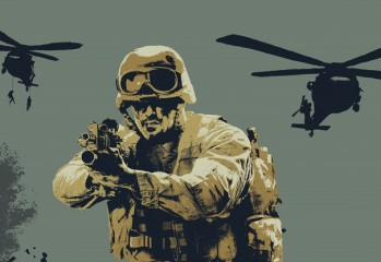 call of duty modern warfare art print