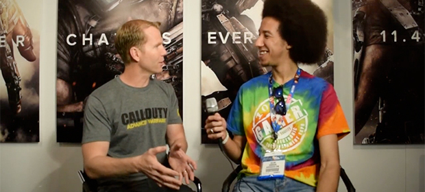 GodisaGeek @ E3: Call of Duty: Advanced Warfare Interview