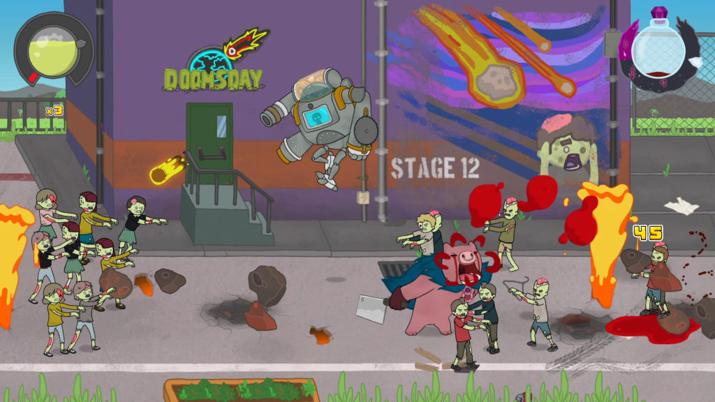 A screenshot of Colossus Down