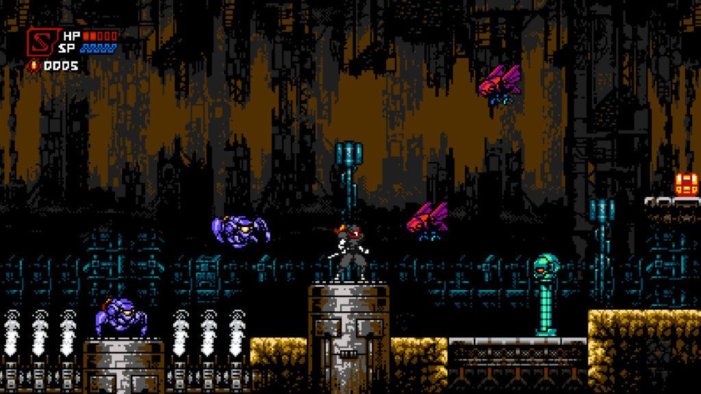 A screenshot of Cyber Shadow