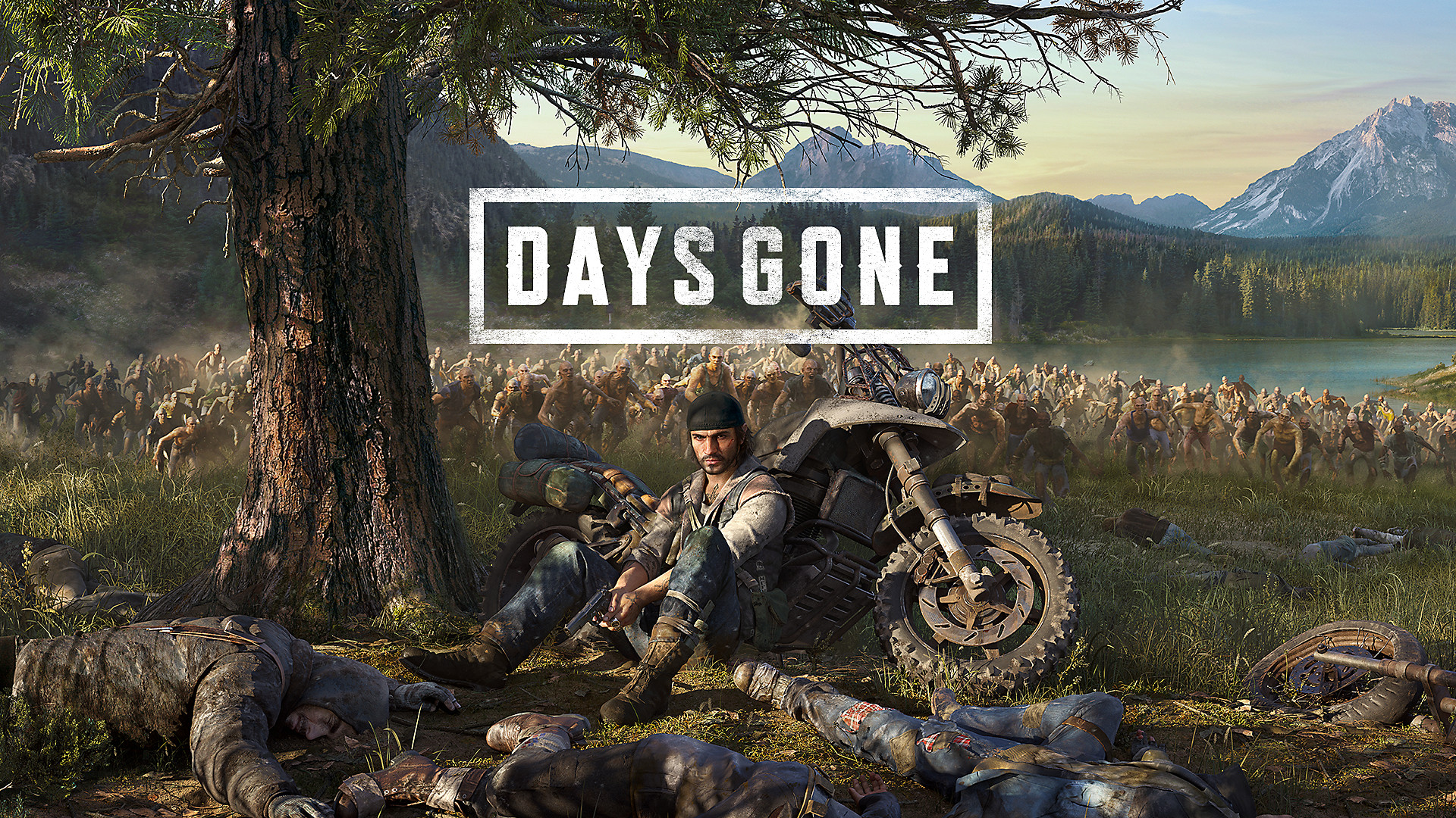 Days Gone PC gameplay for 28 minutes