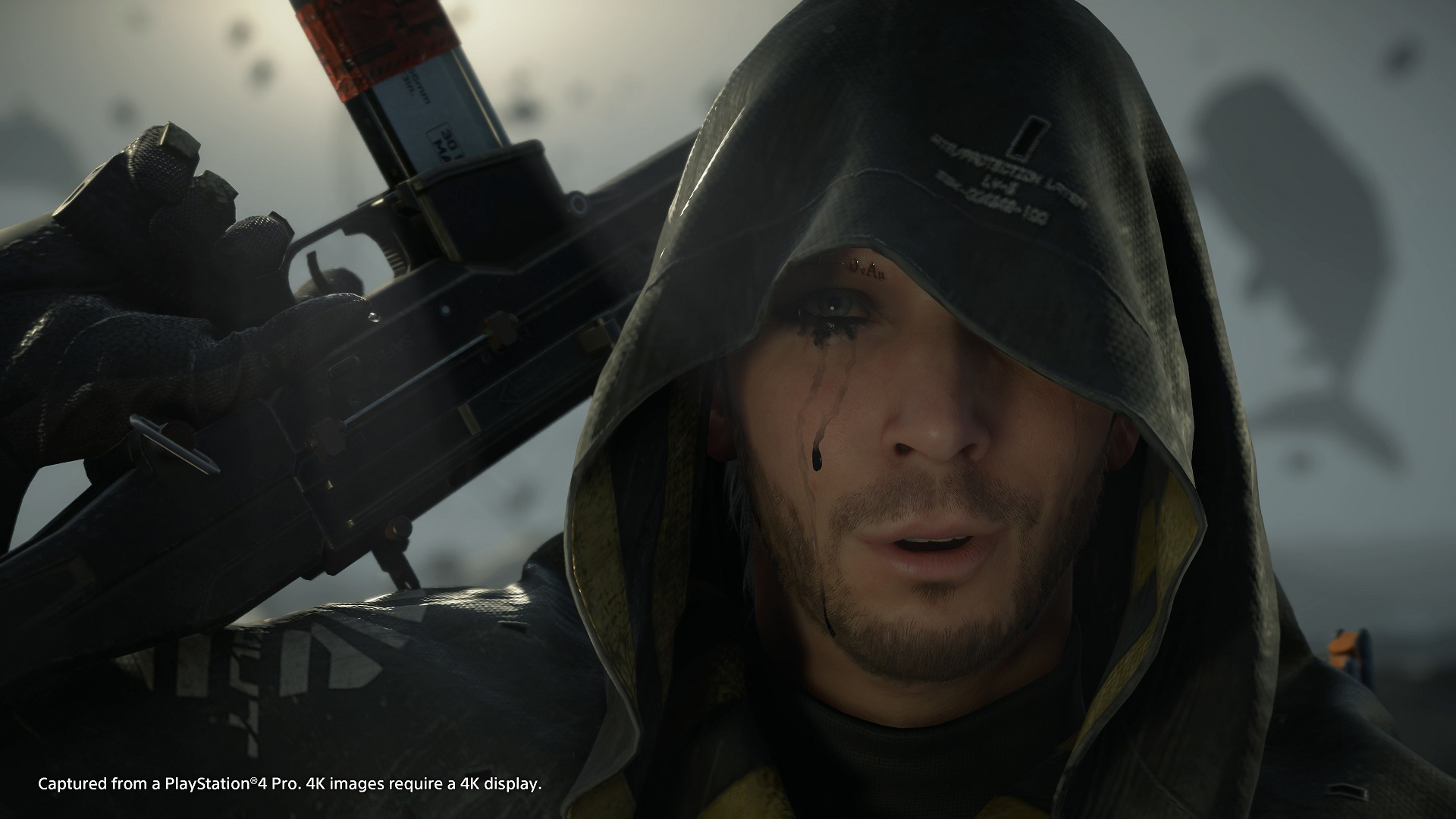 A screenshot from Death Stranding, PS4.