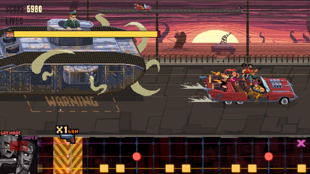 A screenshot of Double Kick Heroes