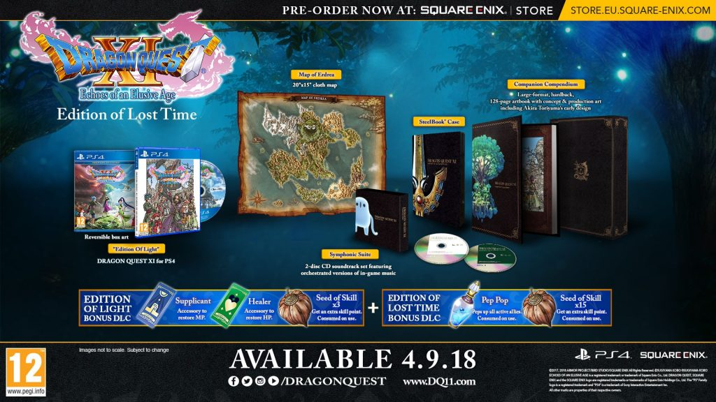 Dragon Quest Xi Echoes Of An Elusive Age Edition Of Lost Time