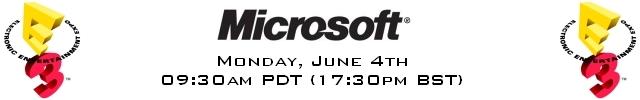 GodisaGeek's E3 2012 Predictions - Microsoft