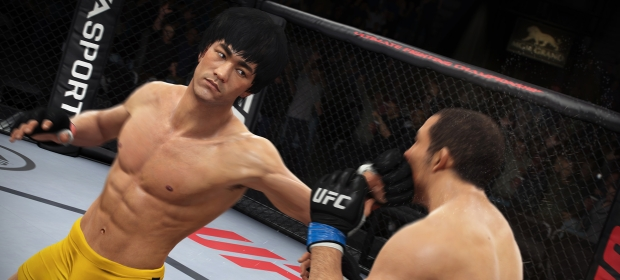 Bruce Lee Is An Unlockable Fighter In EA UFC