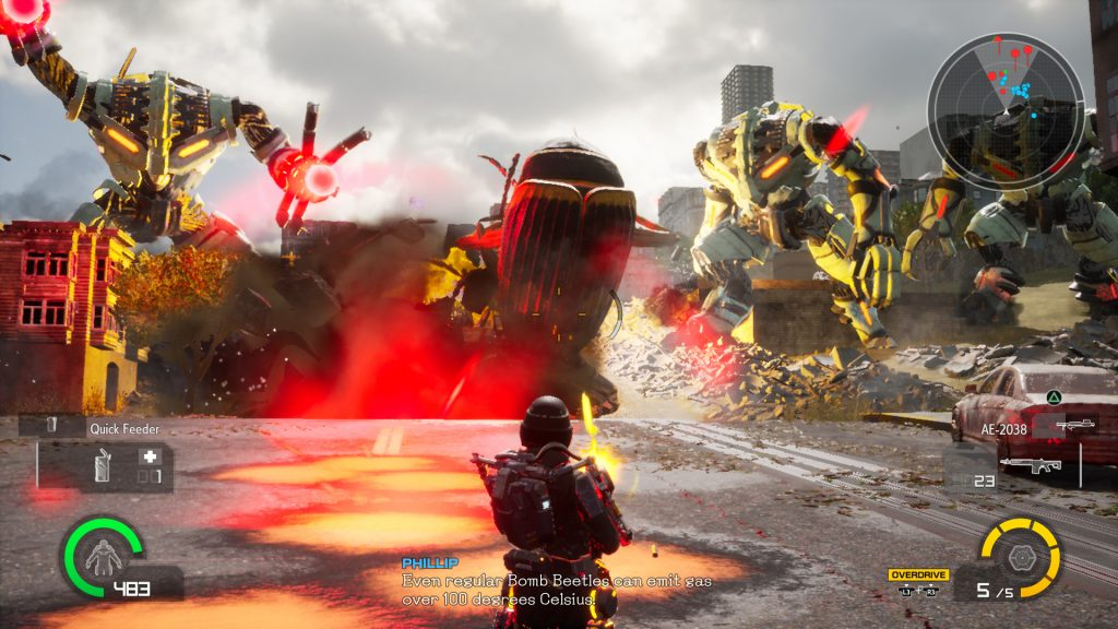 Earth Defense Force: Iron Rain review - GodisaGeek com