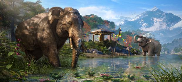 New Far Cry 4 Trailer Shows Us The Elephants Of Kyrat