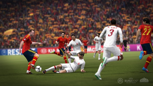 EURO 2012 - Eng V Spa