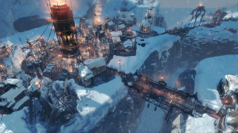 A screenshot of Frostpunk