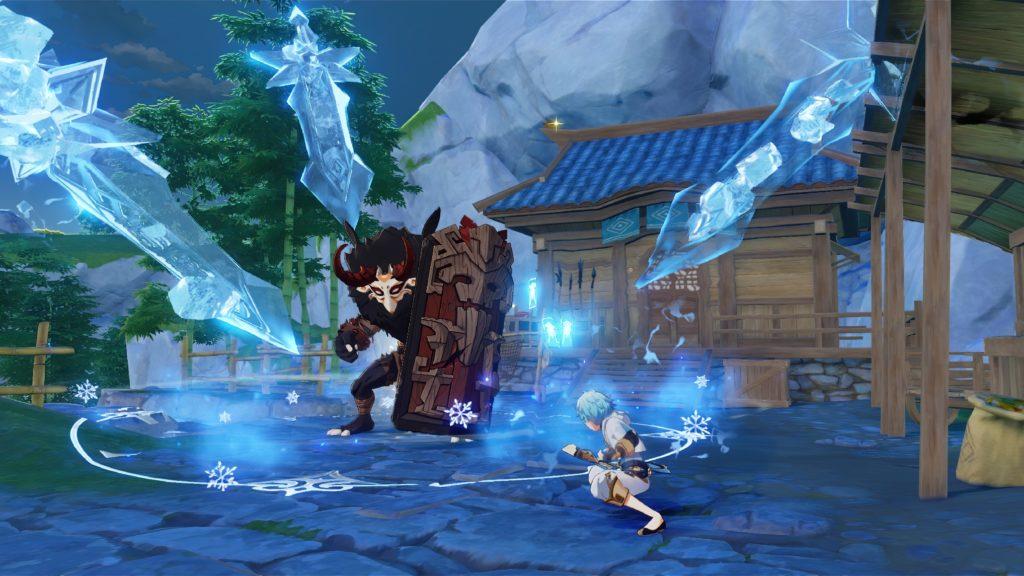 A screenshot of Genshin Impact