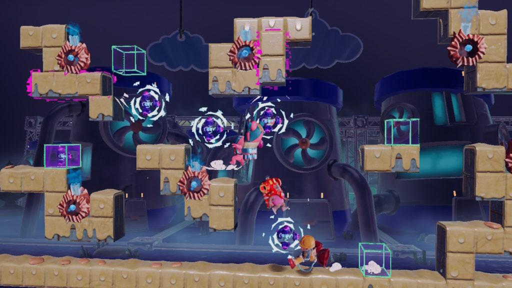 A screenshot of Georifters
