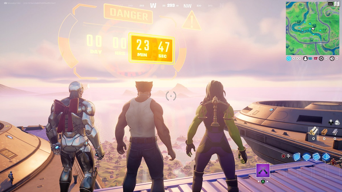 Fortnite Galactus Nexus War