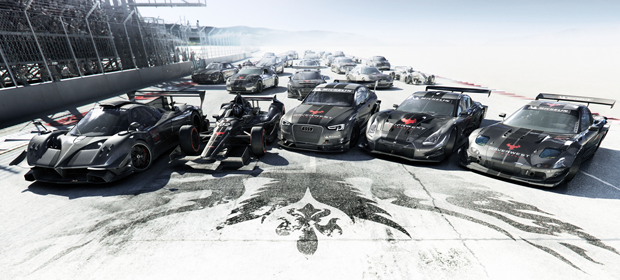 GRID Autosport Announced with slowly skidding cars