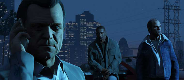 New Grand Theft Auto V Artwork Shows Supporting Cast