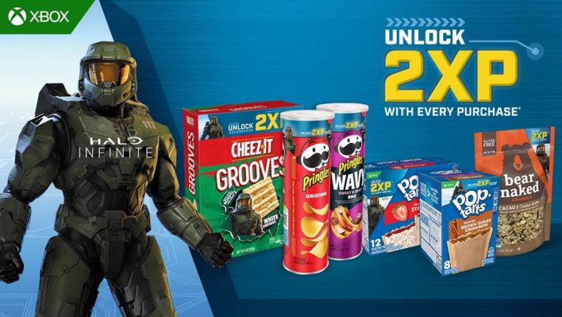 Halo and Kelloggs team up to offer double XP for Halo Infinite