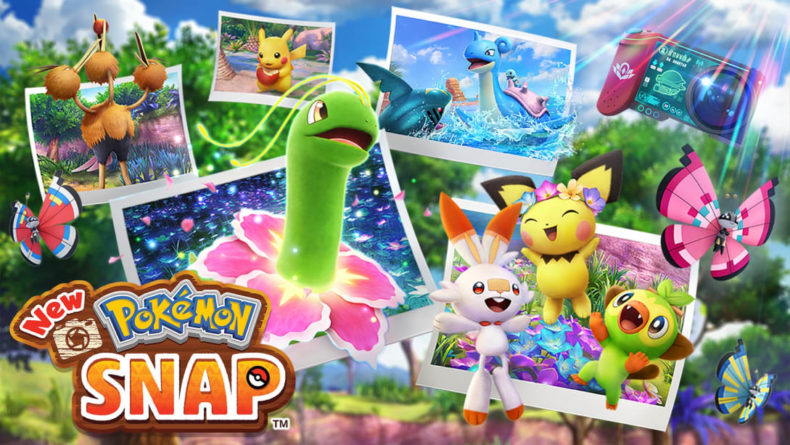New Pokemon Snap title image