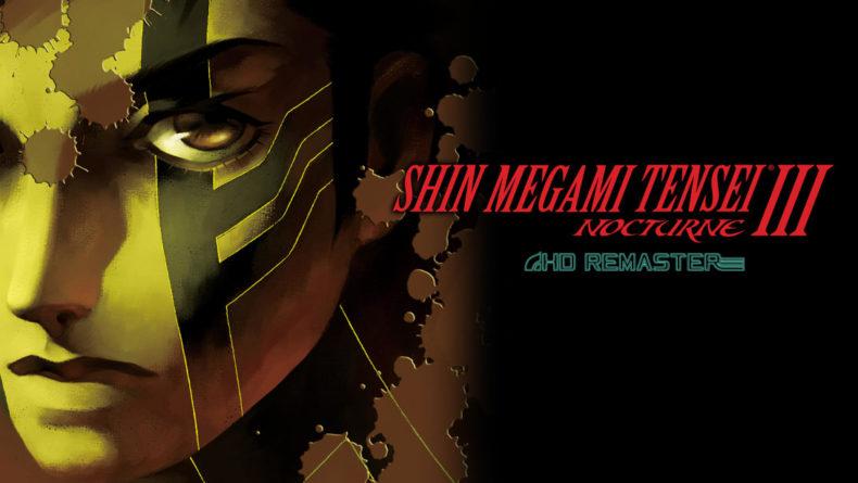 Shin Megami Tensei III Nocturne HD Remaster title image