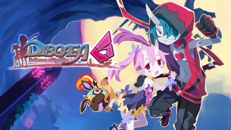 Disgaea 6 title image