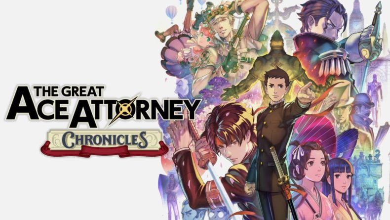 The Great Ace Attorney Chronicles title image