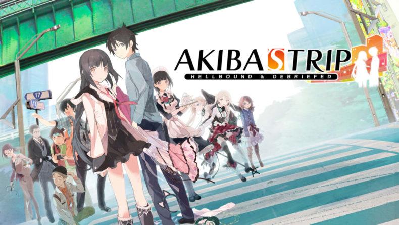 Akiba's Trip title image