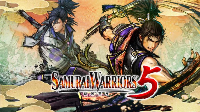 Samurai Warriors 5 title image