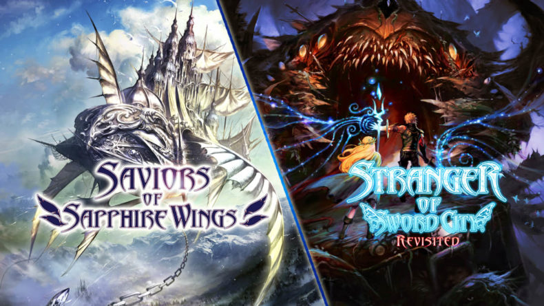 Saviours of Sapphire Wings title image