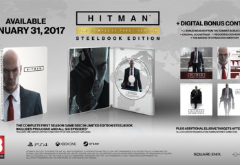 hitman steelbook disc