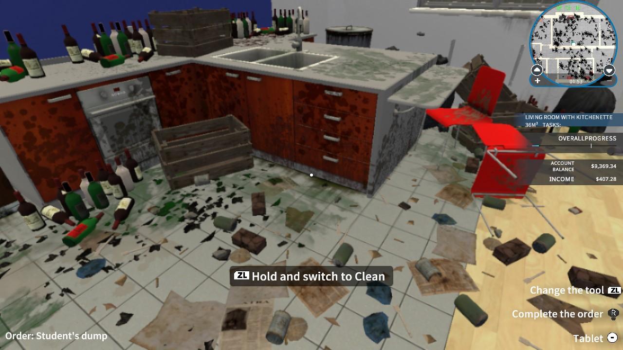 A screenshot from House Flipper