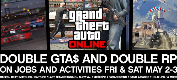 Grand Theft Auto Online Gets Double Everything Weekend