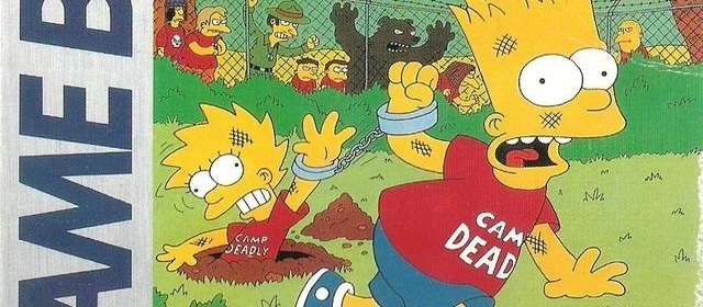 Retro Corner: Bart Simpson's Escape from Camp Deadly