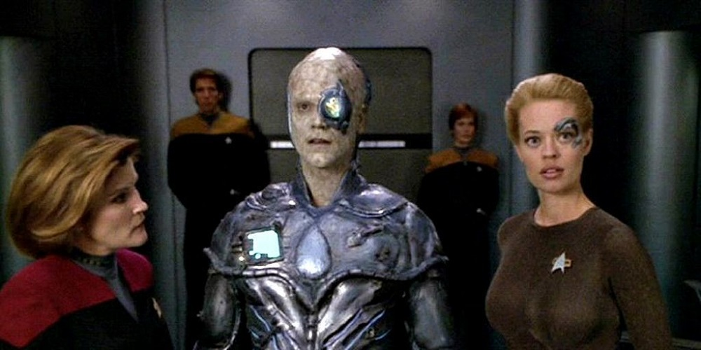 jeri ryan in voyager