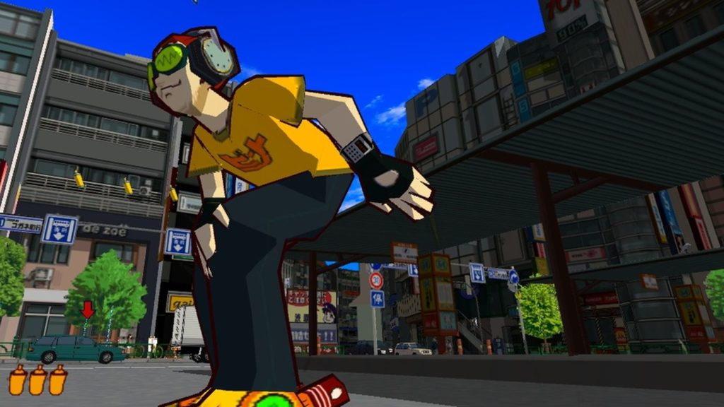 Jet Set Radio Future was a great launch title on the Xbox