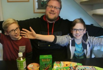 Family Gamer: Japanese Sweets - Part One