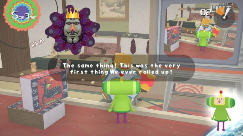 Katamari Damacy REROLL King of All Cosmsos