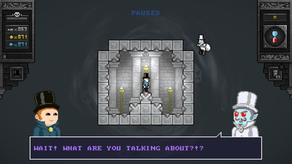 A screenshot of Killer Chambers