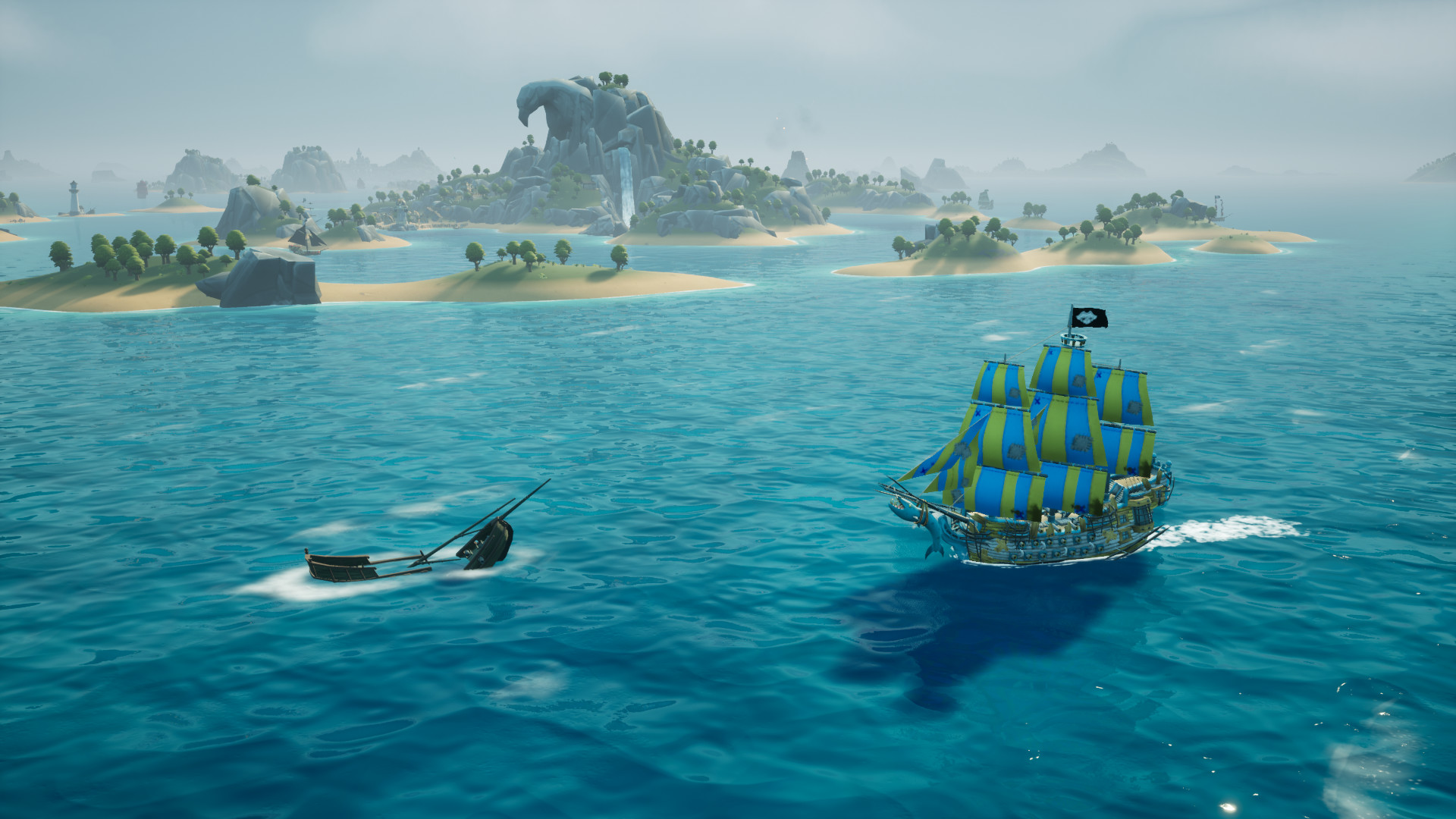 king of seas ships