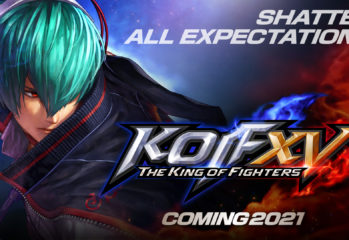 THE KING OF FIGHTERS XV is coming this year