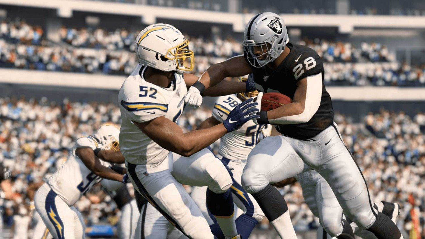 A screenshot from Madden NFL 20 on Xbox One