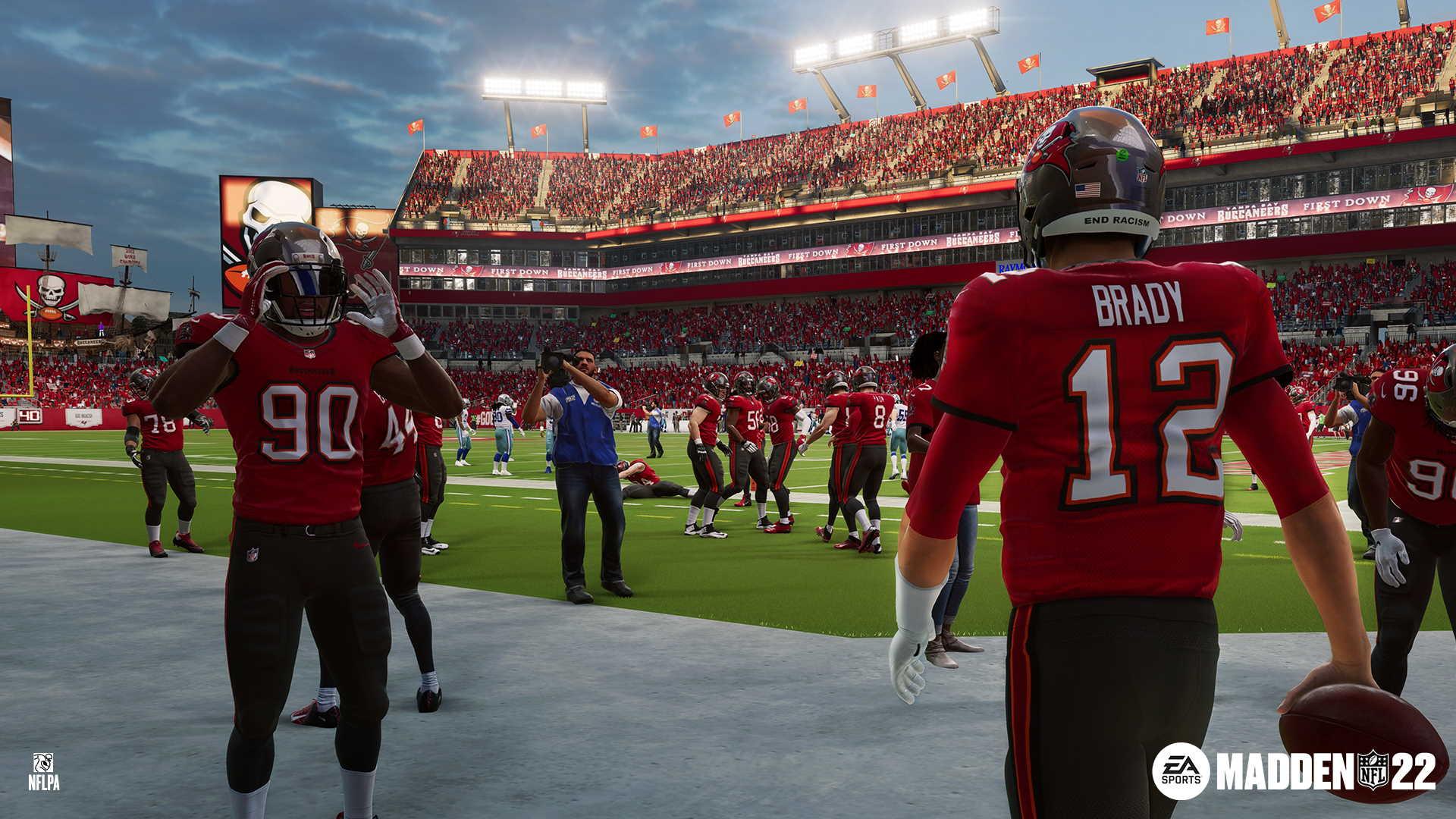 Madden NFL 22: core gameplay
