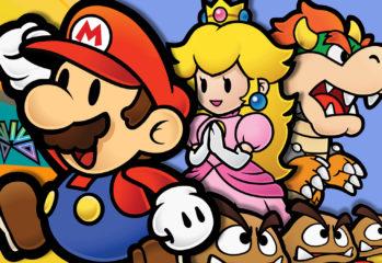 Mario, Peach, and Bowser