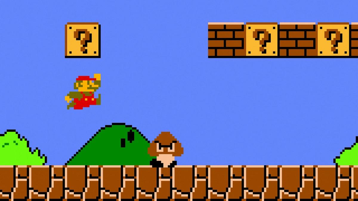 Super Mario Bros. on NES