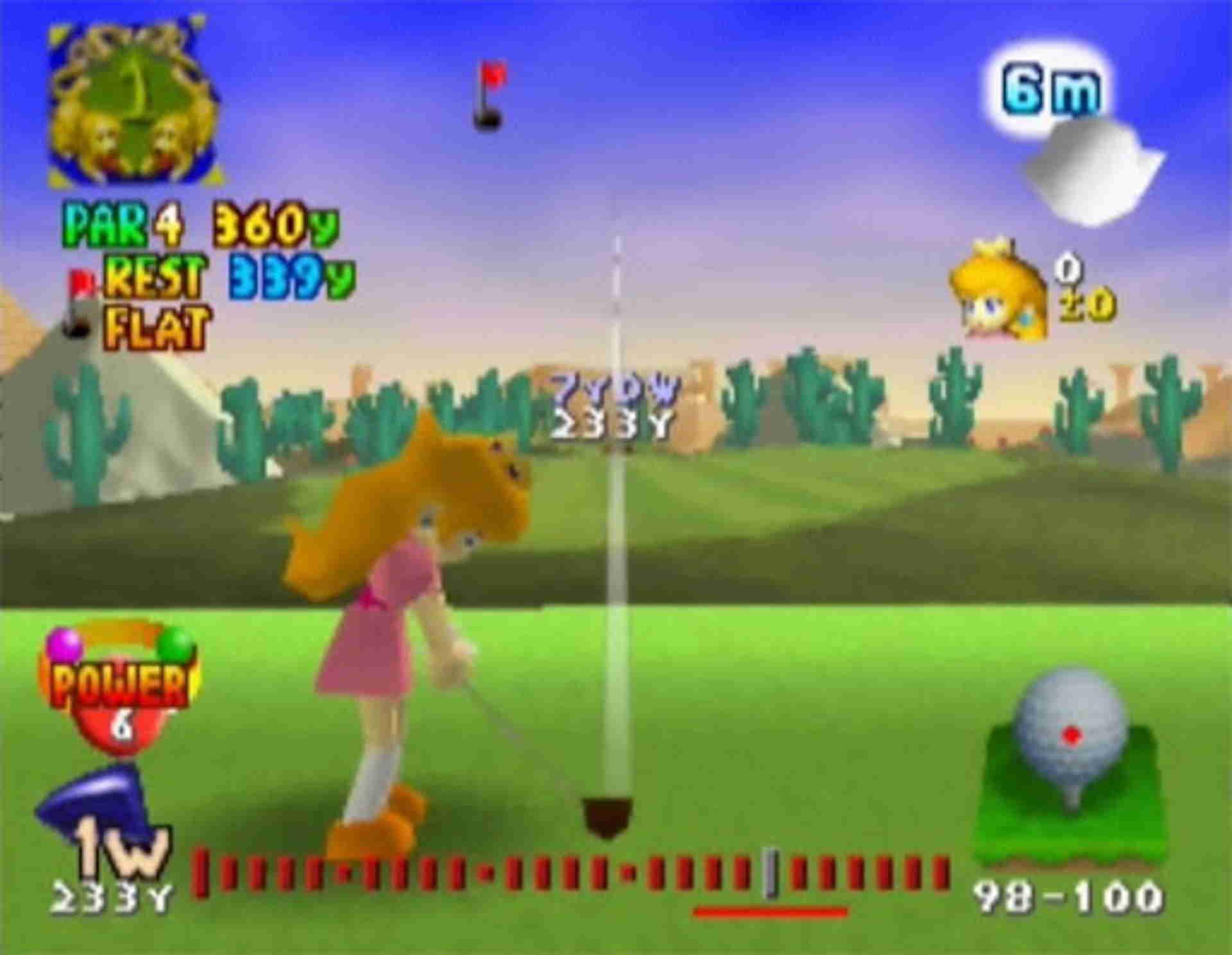 best mario sports games: Mario Golf (Nintendo 64, Game Boy Color, 1999)