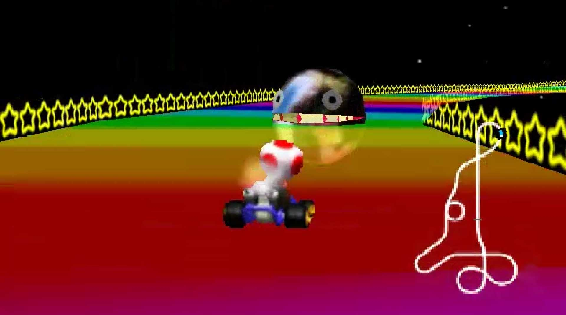 mario kart 64 toad scream