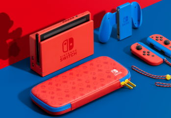 New Mario Red and Blue Switch